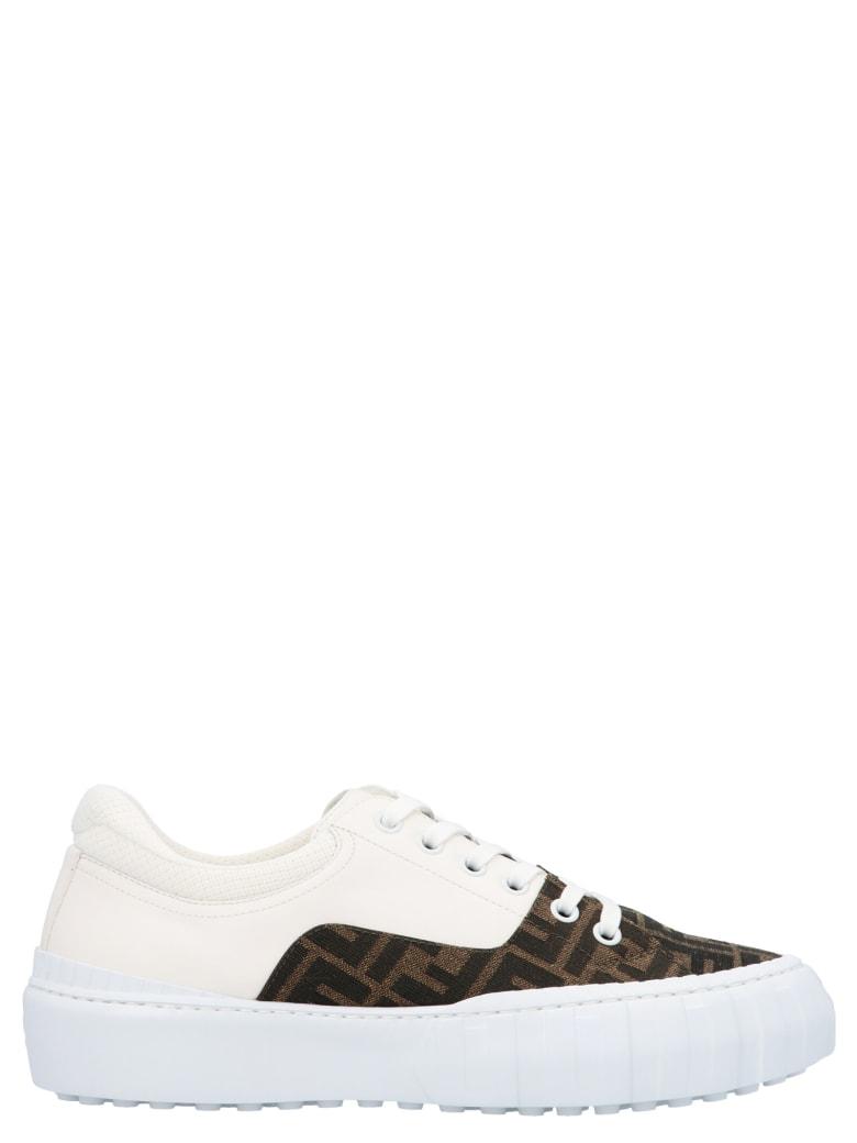Fendi ' Force' Shoes - Bianco