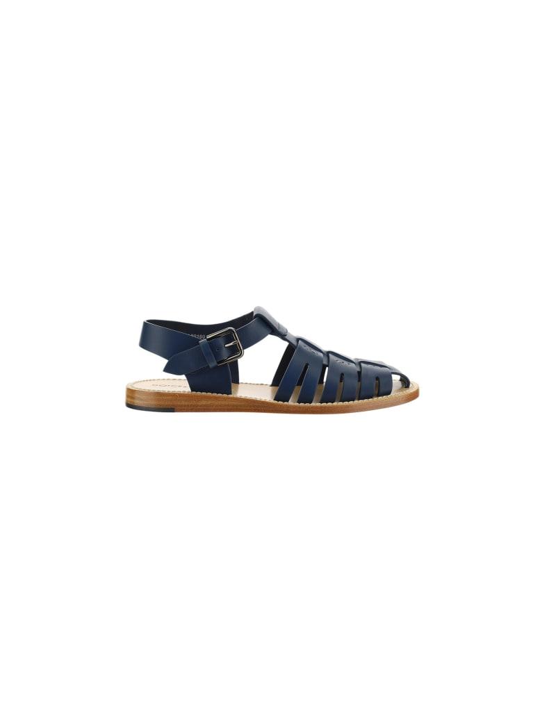 Dolce & Gabbana Gold Box Sandals - Blu navy