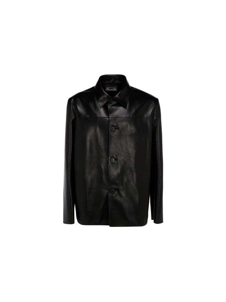 Prada Leather Jacket - Nero