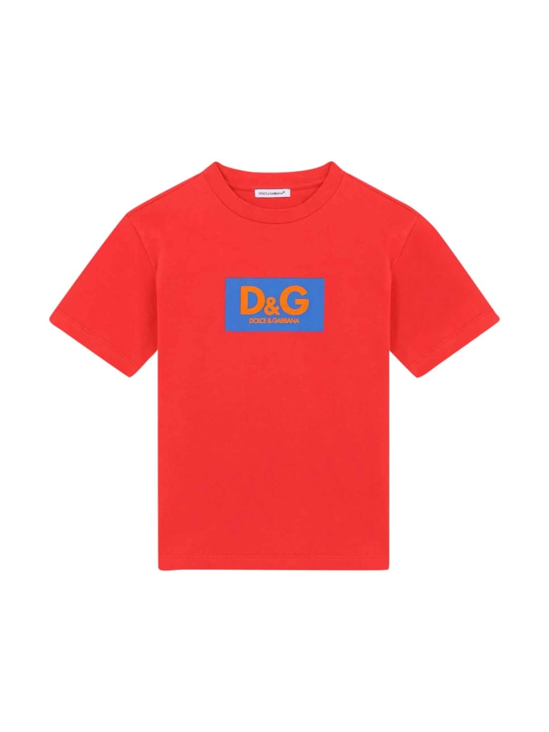 Dolce & Gabbana Red T-shirt - Rosso