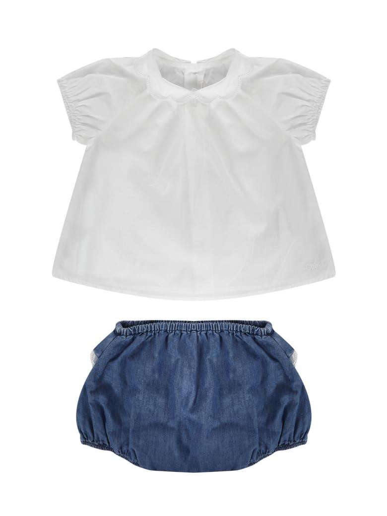Chloé Kids Set - White
