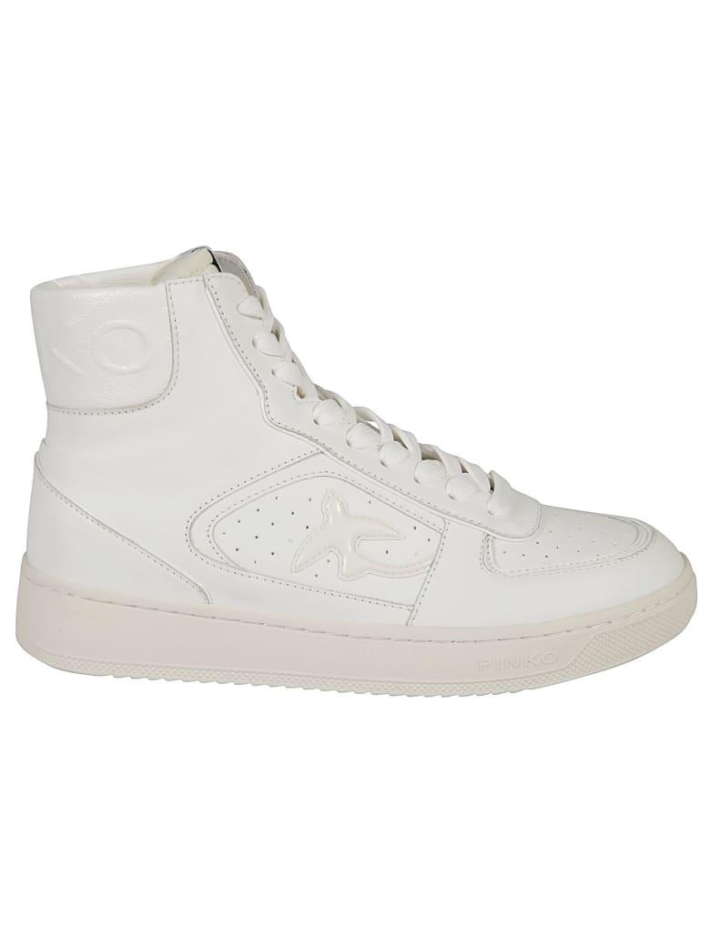 Pinko Harlow Basket High Sneakers - White