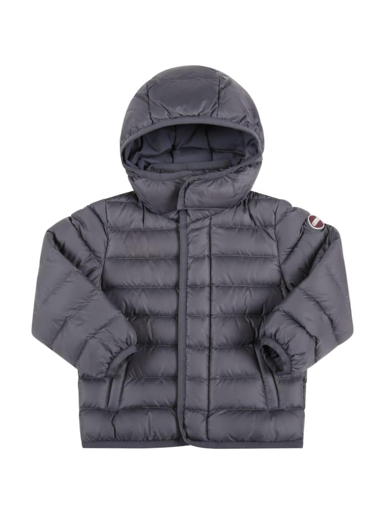 Colmar Grey Jacket For Baby Boy With Logo - Grey
