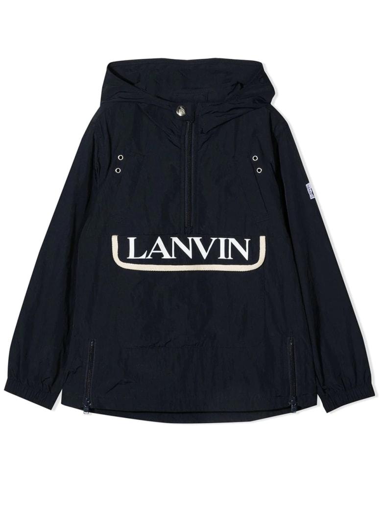 Lanvin Windbreaker With Print - Marine