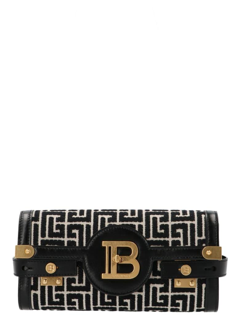 Balmain 'b-buzz 23' Bag - Black&White