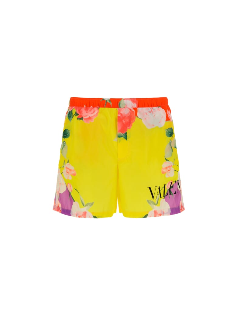 Valentino Swimsuit - Flowers collage