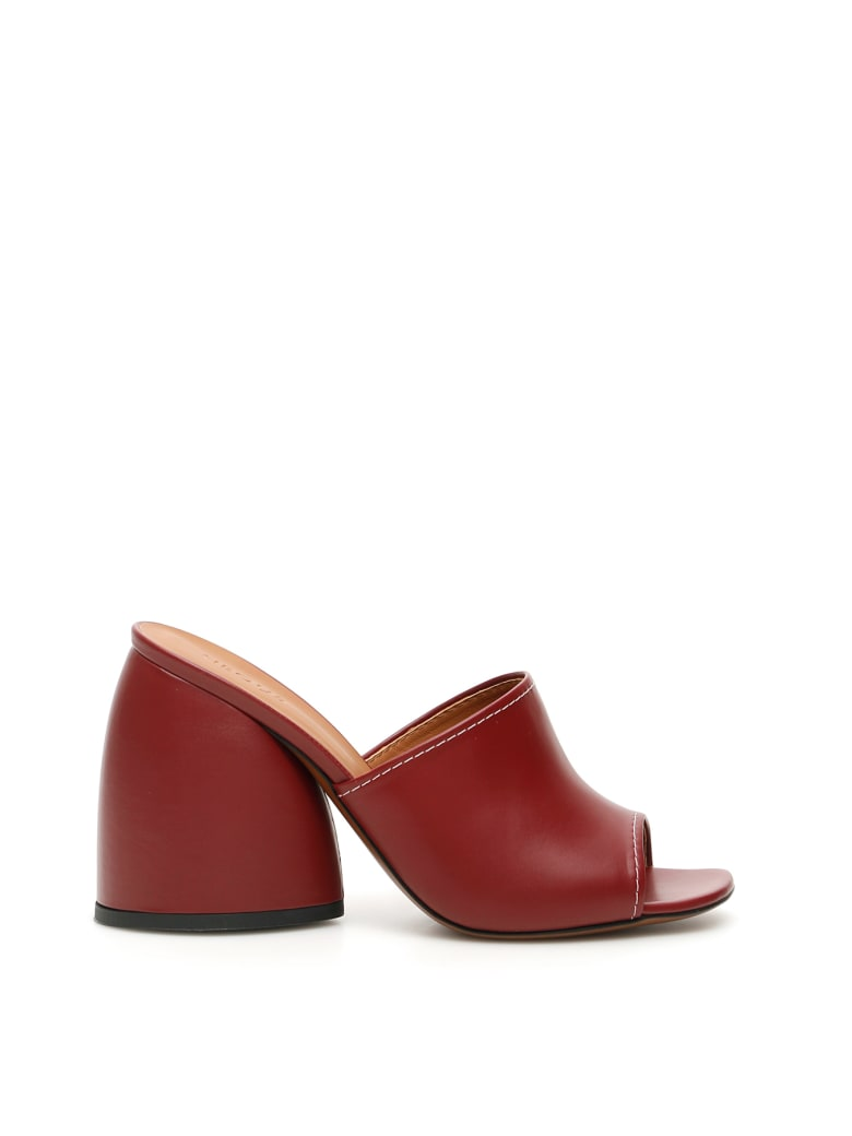 Neous Epige Mules - BURGUNDY (Brown)