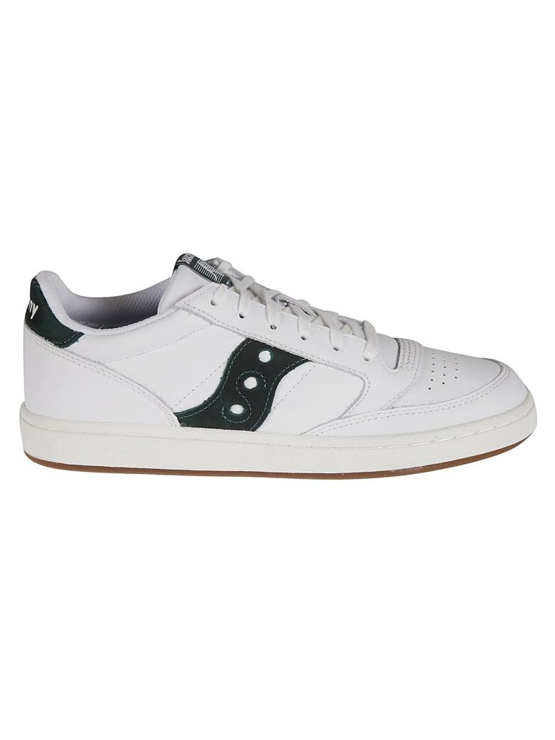 Saucony Jazz Court Sneakers - White/Green/White