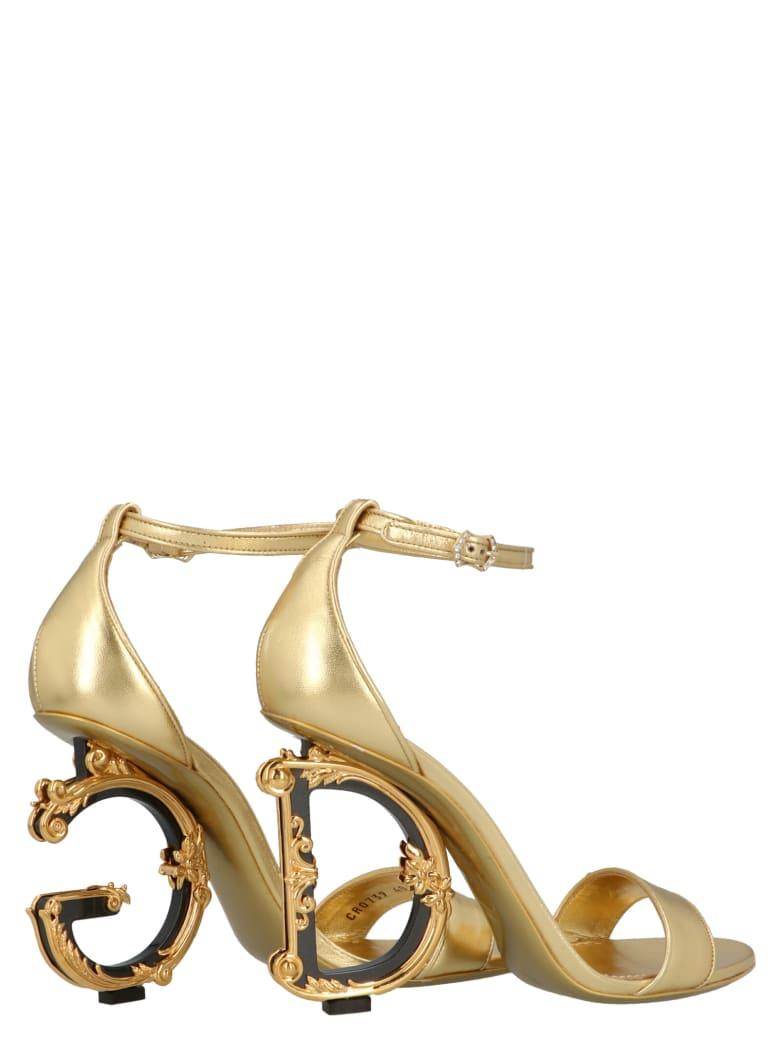 Dolce & Gabbana Shoes - Gold