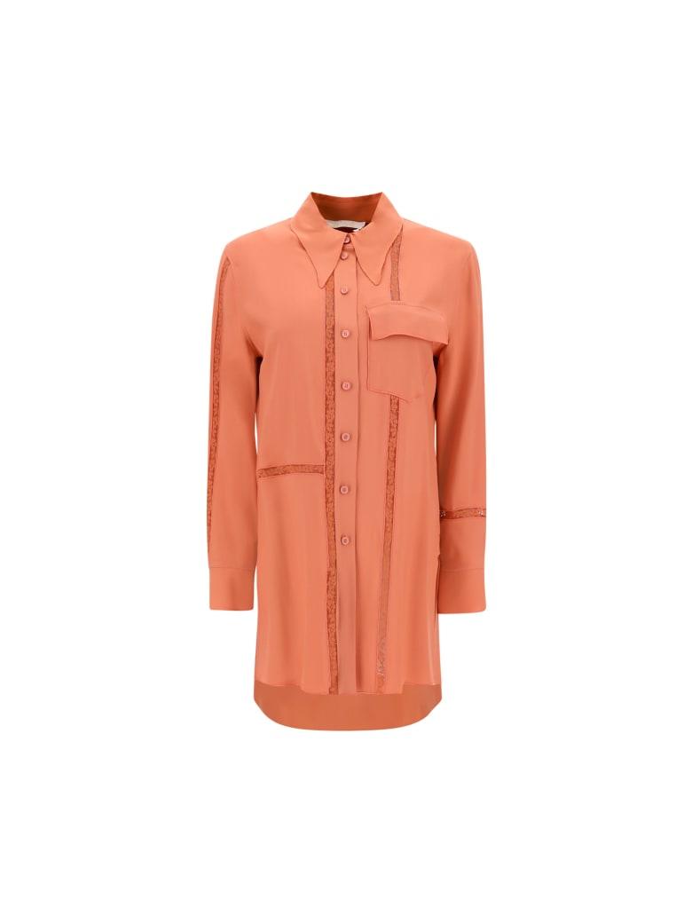 Chloé Blouse - Wooden orange