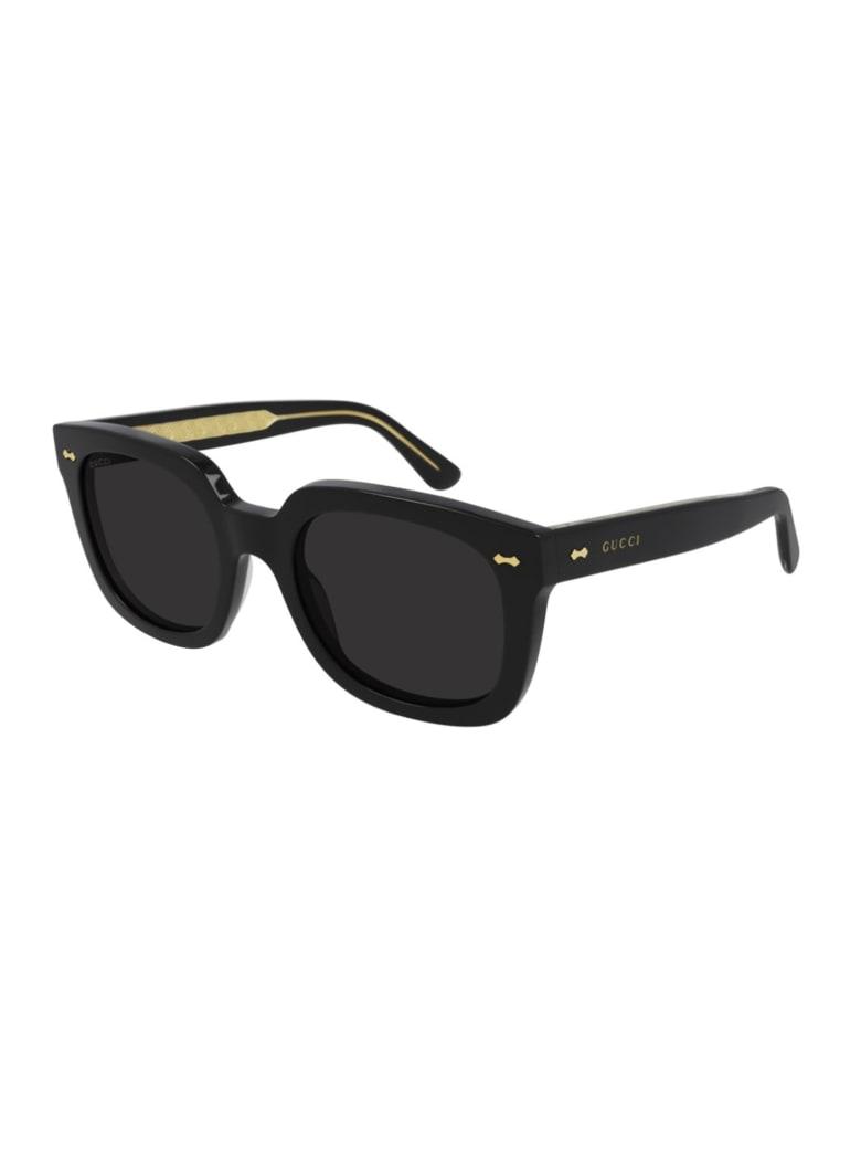 Gucci GG0912S Sunglasses - Black Black Grey