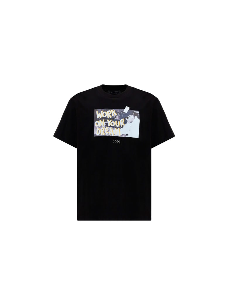 Throwback T-shirt - Black