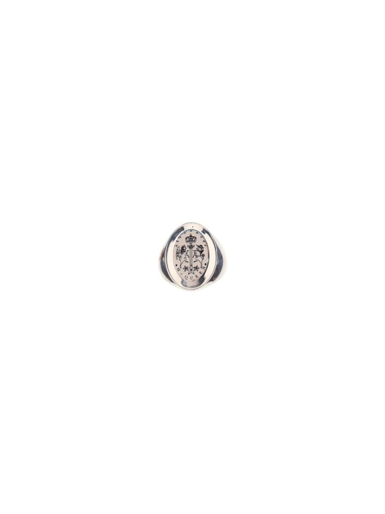 Alexander McQueen Ring - Mcq0911sil.v.b. antil
