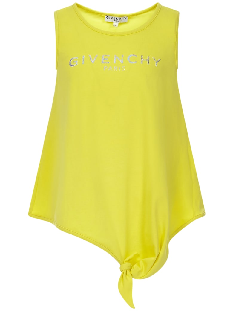 Givenchy Kids Tank Top - Yellow