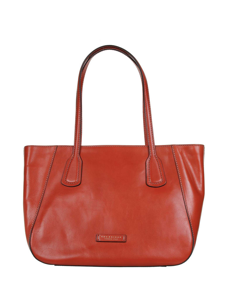 The Bridge The Bridge Shopping Bag - ARANCIO