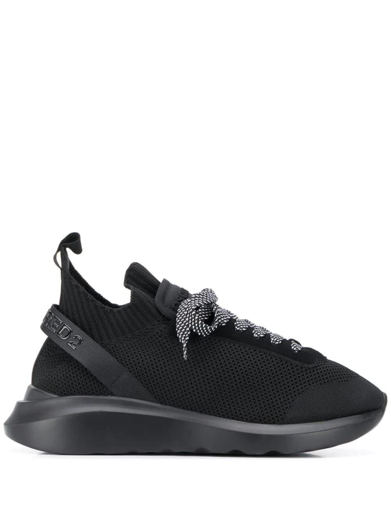 Dsquared2 Man Black Speedster Sneakers