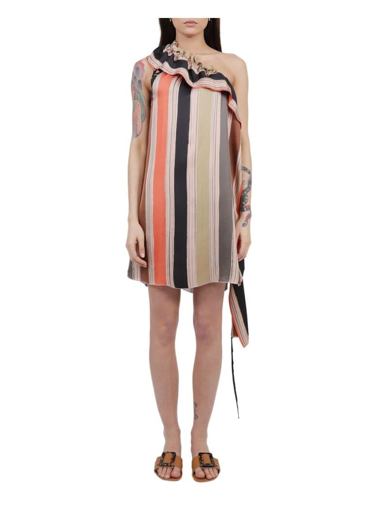Nenah Printed Parigi Dress - Multi
