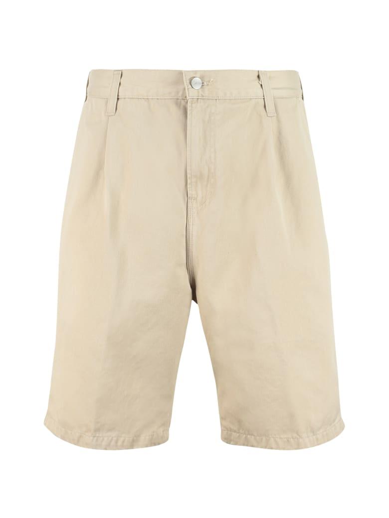 Carhartt Abbott Cotton Bermuda Shorts - Panna