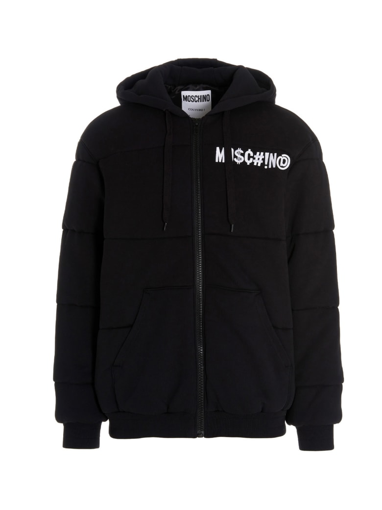 Moschino 'symbols' Jacket - Black