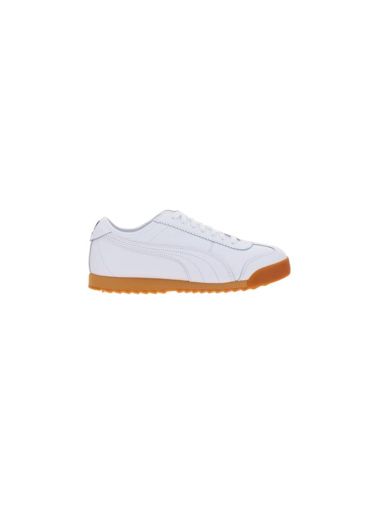 Puma X Maison Kitsune Roma Kitsune Sneakers - Bianco