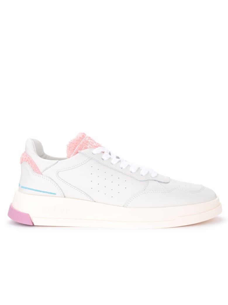 GHOUD White And Pink Leather Ghoud Tweener Sneaker - BIANCO