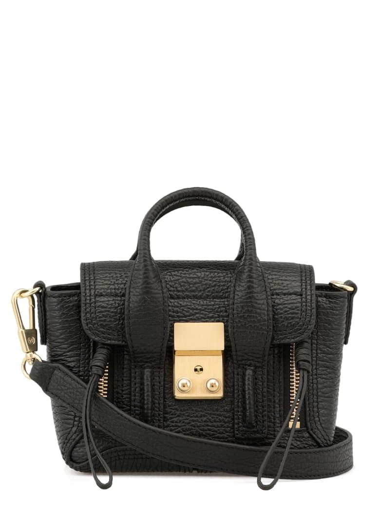 3.1 Phillip Lim Loged Handbag - BLACK