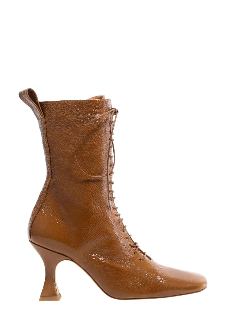 Miista Yana Ankle Boots - Brown