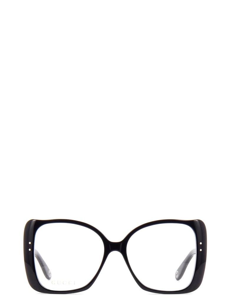 Gucci Eyewear Gucci Gg0473o Black Glasses - Black