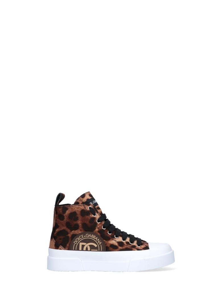 Dolce & Gabbana Sneakers - Leopardato