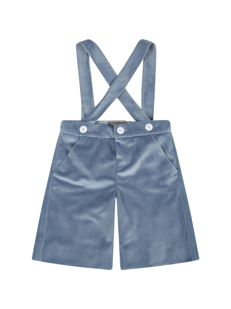 Little Bear Light Blue Short For Baby Boy - Light Blue