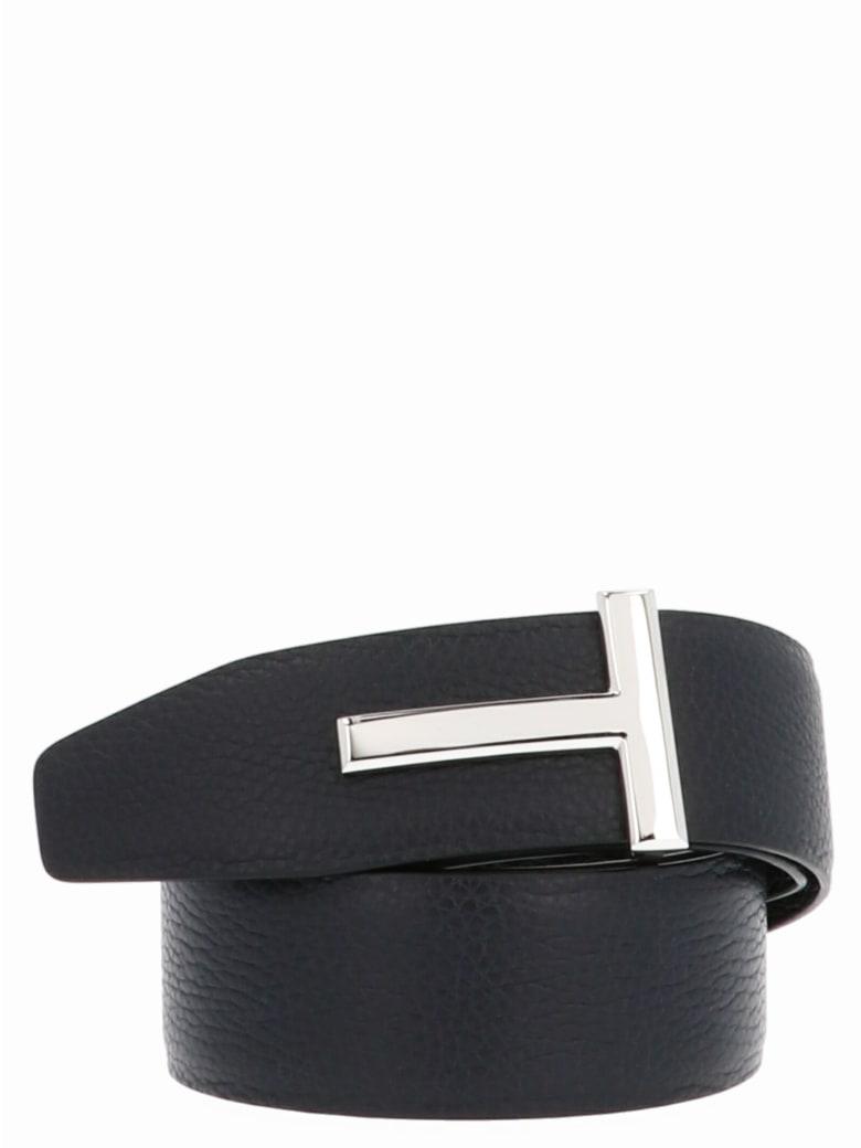 Tom Ford 't' Belt - Multicolor