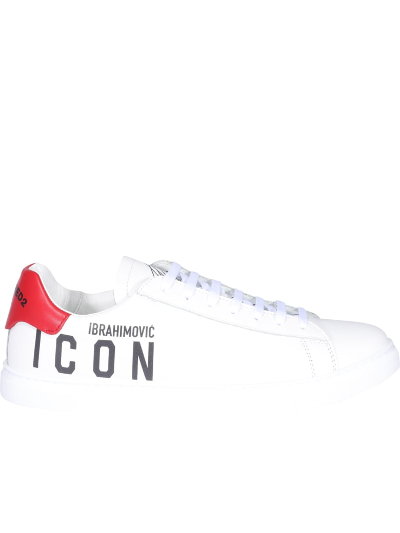 Dsquared2 New Tennis Logo Icon Sneakers