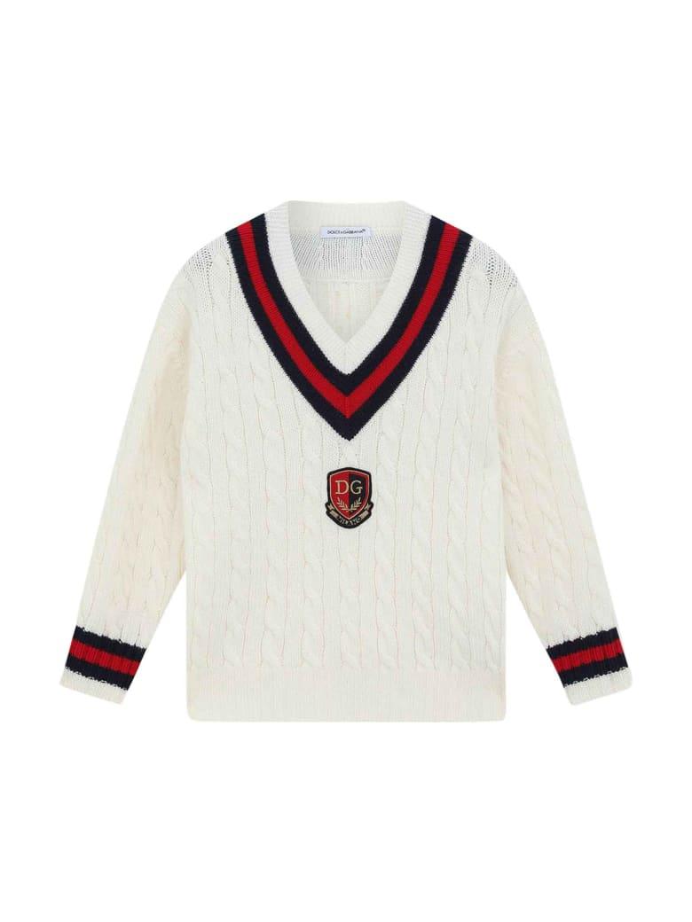 Dolce & Gabbana Cream Sweater - Panna