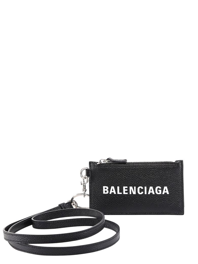Balenciaga Cardholder - NERO/BIANCO
