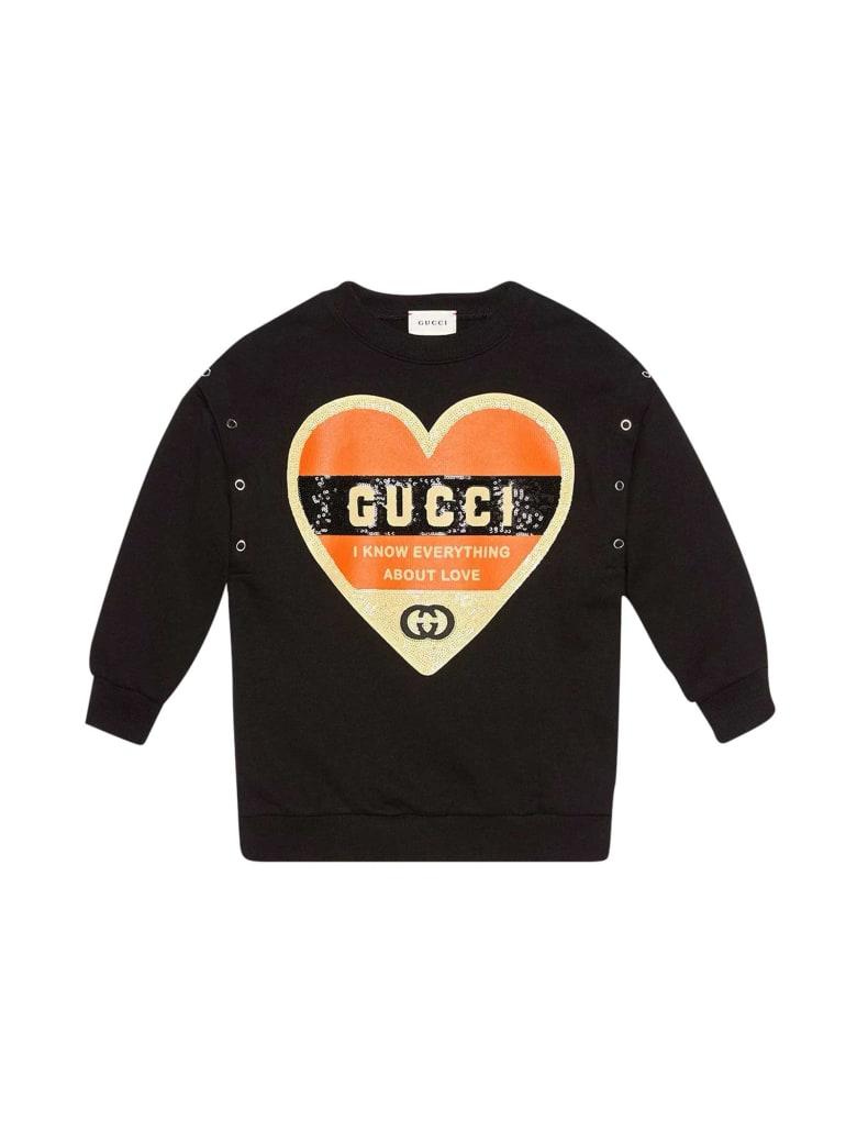 Gucci Black Sweatshirt - Nero