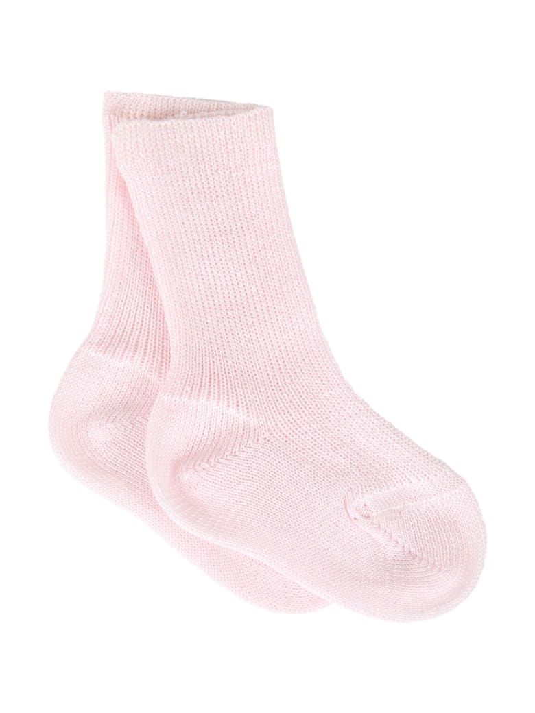 Story loris Pink Socks For Babygirl - Pink