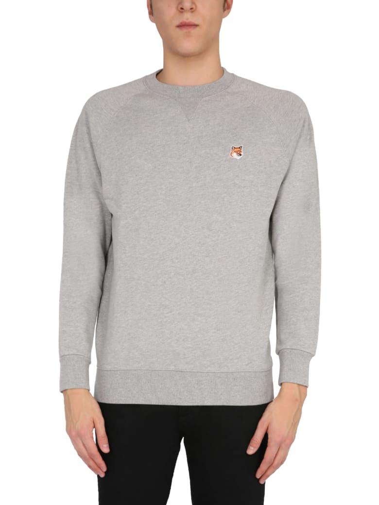 Maison Kitsuné Crew Neck Sweatshirt
