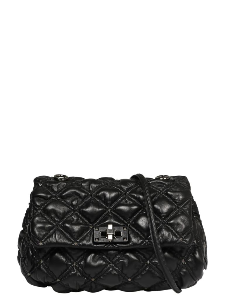 Valentino Garavani Spikeme Medium Bag - Black