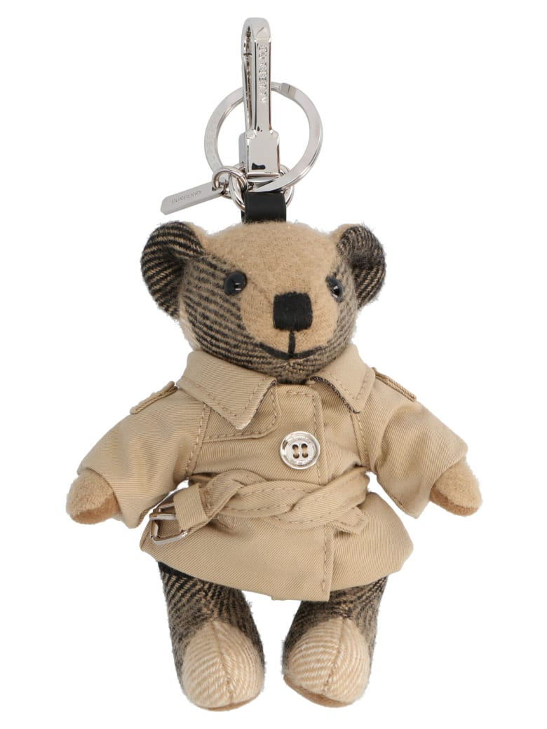 Burberry 'thomas Trench' Keyring - Beige