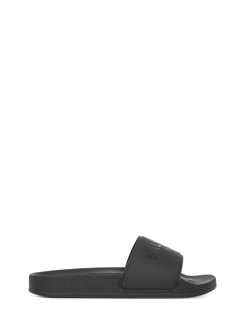 Balmain Paris Sandals - Black