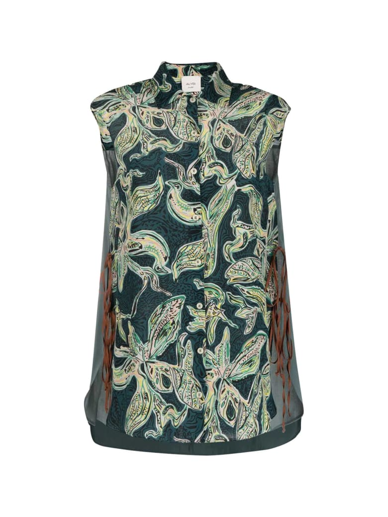 Alysi Blouse With Print - Verde