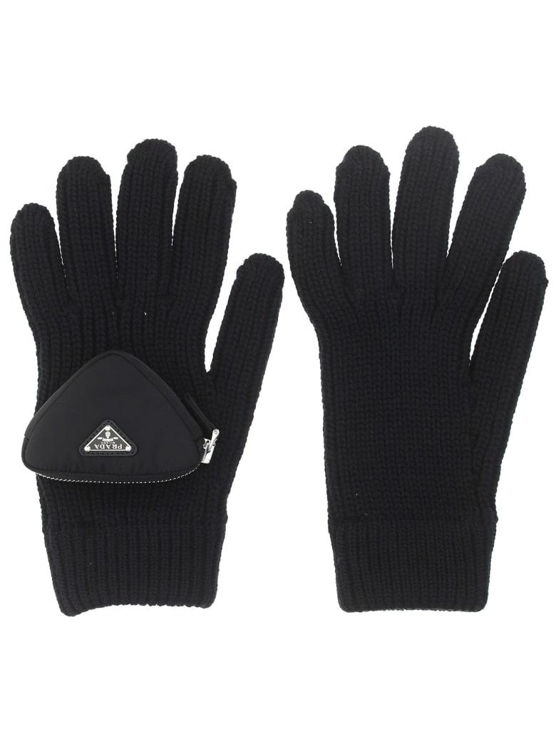 Prada Gloves - Nero