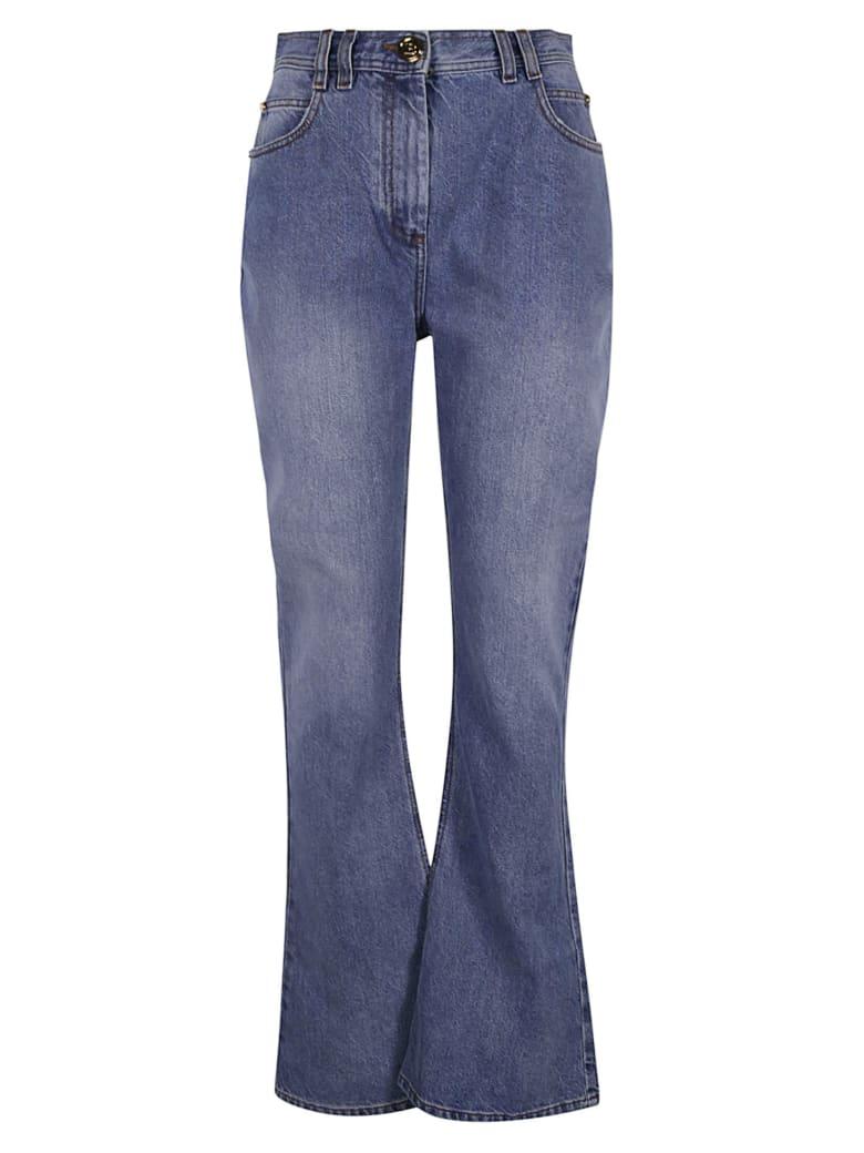 Balmain Classic Flared Hem Jeans - Azzurro