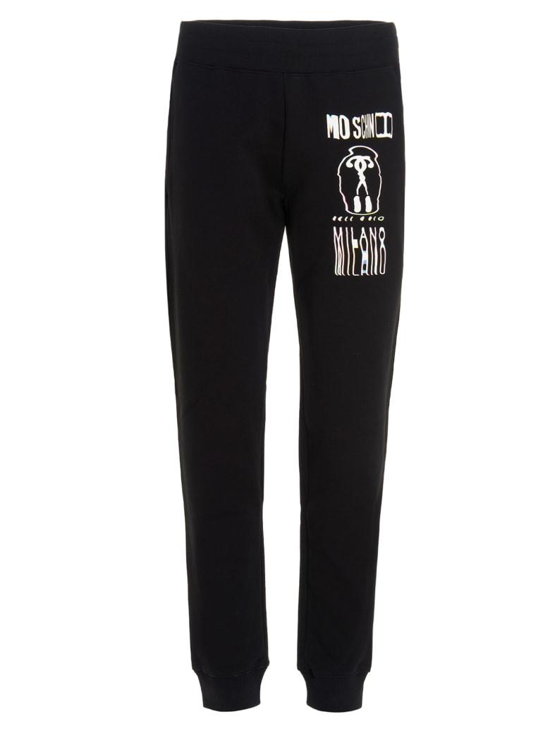 Moschino 'optical' Pants - Black
