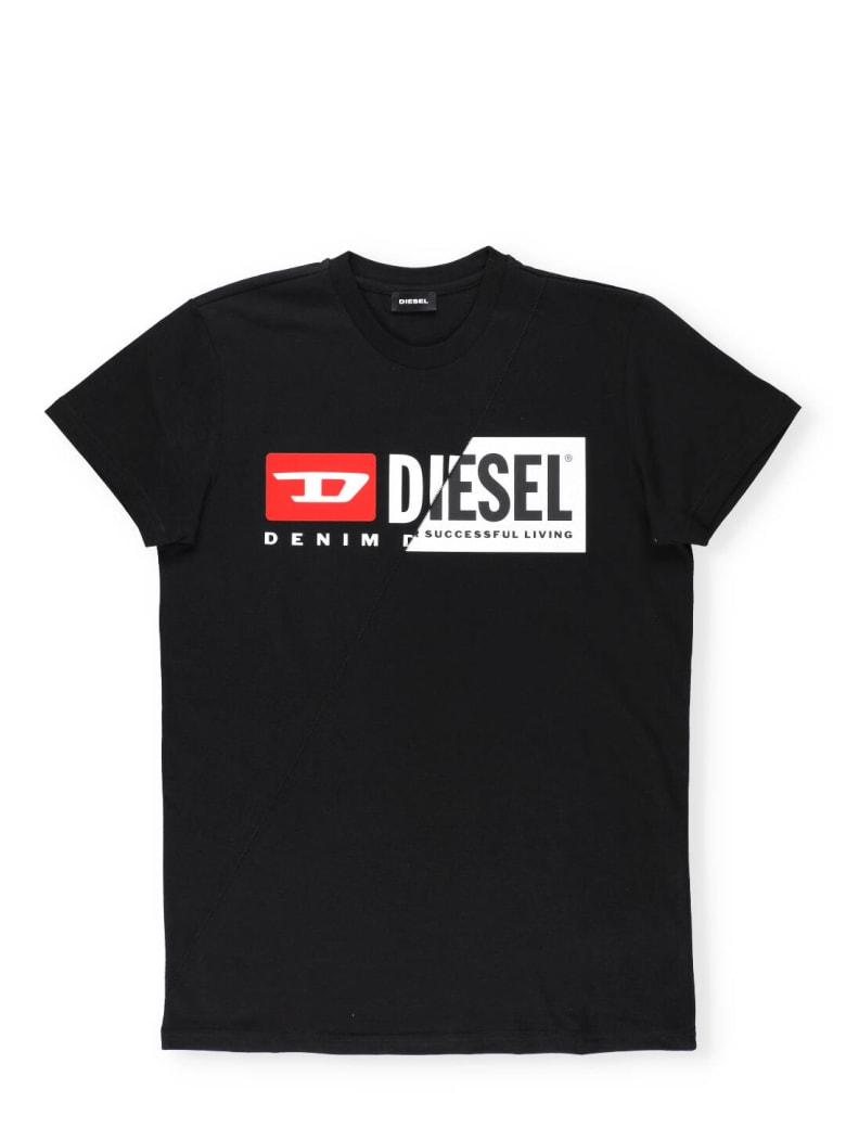 Diesel Logo T-shirt - Black
