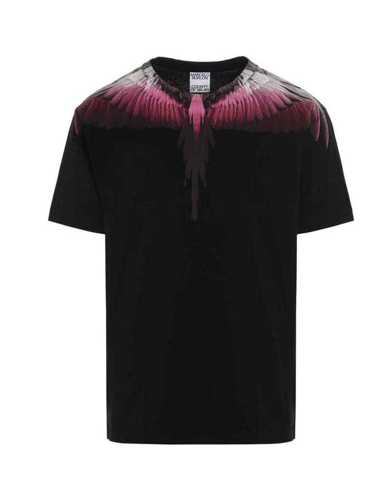 Marcelo Burlon 'wings' T-shirt - Black