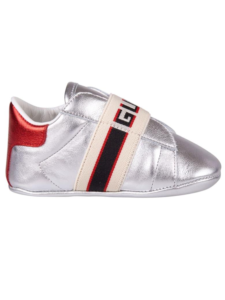 Gucci Junior Sneakers - Silver
