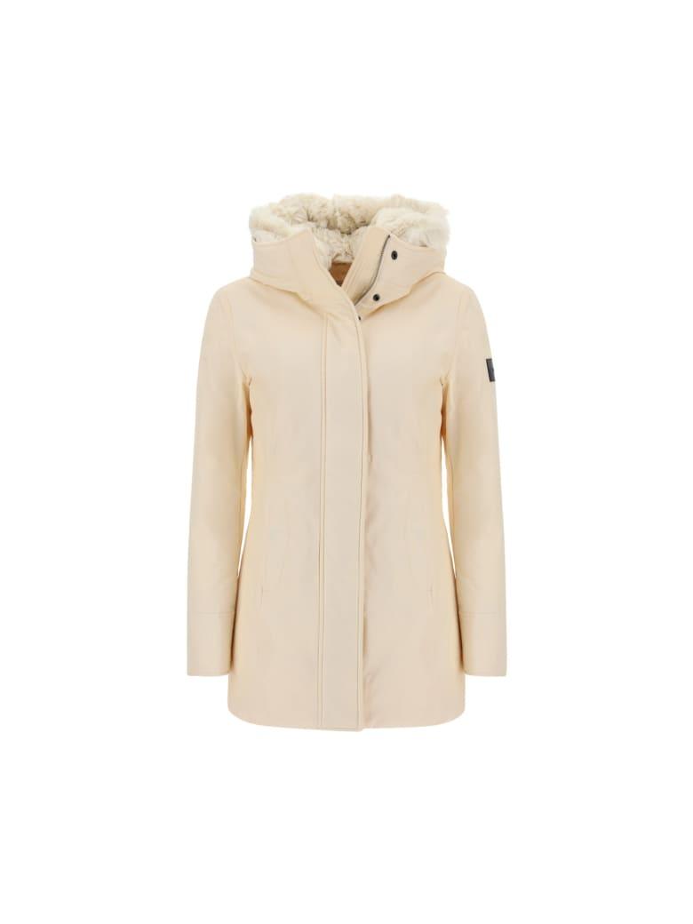 Woolrich Woolen Mills Woolrich Woolen Parka - Ivory