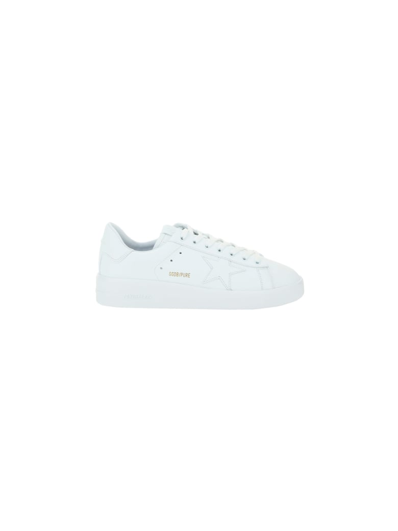 Golden Goose Pure Star Sneakers - Optic white
