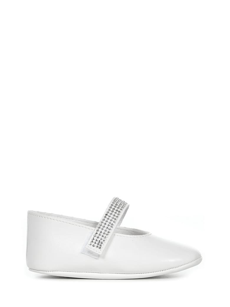 Miss Blumarine Ballet Shoes - White